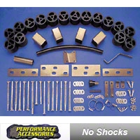 Performance Accessories 3 In. Body Lift Kit (87-95 Wrangler YJ w/auto trans) - Performance Accessories 933A