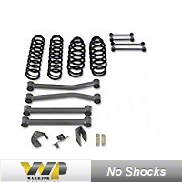 Warrior Products 3in. Stage I Lift Kit, No Shocks (07-13 Wrangler JK) - Warrior Products 30852