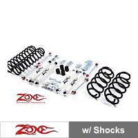 Zone Offroad 3 in. Lift Kit (97-06 Wrangler TJ) - Zone Offroad Products J2