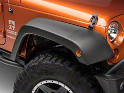 Rugged Ridge Fender Flare Replacement Kit, OE Style, 4-piece (07-16 Wrangler JK)
