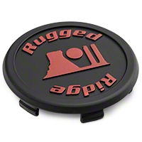 Rugged Ridge Jesse Spade Wheel Center Cap 17x9 (07-15 Wrangler JK) - Rugged Ridge 15303.94