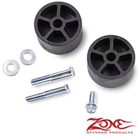 Zone Offroad Products 3 In. Bump Stop Extensions - Pair (Universal Application) - Zone Offroad Products J5304