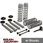 Rough Country 3.25in. Lift Kit 2-Door (07-14 Wrangler JK) - Rough Country PERF693