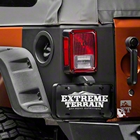 Rugged Ridge Rear Corner Kit, Body Armor, 4-Door (07-16 Wrangler JK 4-Door) - Rugged Ridge 11651.09