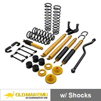 Old Man Emu 4 in. Lift Kit w/ Shocks (07-15 Wrangler JK) - Old Man Emu OMEJK4