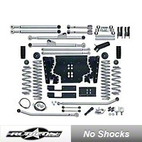Rubicon Express 3.5in. Extreme-Duty Long Arm Lift Kit (97-02 Wrangler TJ) - Rubicon Express 7203