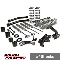 Rough Country 3.5in. Series II Lift Kit (07-13 Wrangler JK 2 Door) - Rough Country 608S