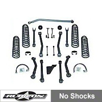 Rubicon Express 3.5 in. Super-Flex Lift Kit (07-13 Wrangler JK 2 Door) - Rubicon Express 7123