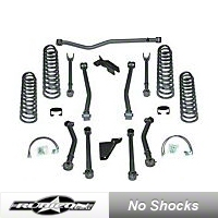 Rubicon Express 3.5 in. Super-Flex Lift Kit (07-13 Wrangler JK 4 Door) - Rubicon Express 7143