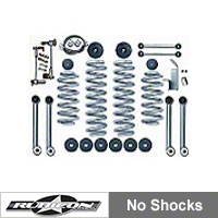Rubicon Express 3.5 in. Super-Flex Lift Kit (97-06 Wrangler TJ) - Rubicon Express 7003