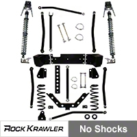 Rock Krawler 3.5 in. X Factor Coil Over Long Arm System (07-13 Wrangler JK 2 Door) - Rock Krawler RKJKCOMP35-2