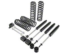 Zone Offroad 3 in. Lift Kit w/ Nitro Shocks (07-16 Wrangler JK 2-Door)