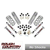 Rough Country 3.75in. Lift Combo Kit, No Shocks (03-06 Wrangler TJ 6 Cyl) - Rough Country 647