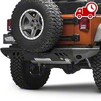 Aries Automotive Aluminum Modular Rear Bumper (07-16 Wrangler JK) - Aries Automotive 2071050