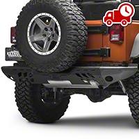 Aries Automotive Steel Modular Rear Bumper (07-16 Wrangler JK) - Aries Automotive 2071052