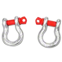 Rugged Ridge 3/4 Inch D-Rings (Universal Application) - Rugged Ridge 11235.01