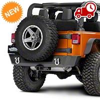 Barricade Extreme HD Rear Bumper (07-16 Wrangler JK) - Barricade J103686