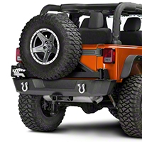 Barricade Extreme HD Rear Tire Carrier (07-16 Wrangler JK) - Barricade J103687