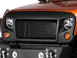 Rugged Ridge Spartan Grille - Satin Black (07-16 Wrangler JK)