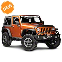 Rugged Ridge Body Armor Kit, 5-piece, Smooth Matte Black (07-16 Wrangler JK 2 Door) - Rugged Ridge 11651.53