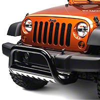 Rugged Ridge 3 in. Black Powder Coated, Bull Bar (07-09 Wrangler JK) - Rugged Ridge 82001.27