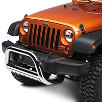 Rugged Ridge 3 in. Stainless Steel, Bull Bar (07-09 Wrangler JK) - Rugged Ridge 82501.27