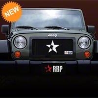 RBP RL-Series Plain Grille - Black (07-16 Wrangler JK) - RBP 254483