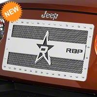 RBP RX-3 Series Studded Grille - Chrome (07-16 Wrangler JK) - RBP 851483