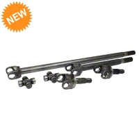 Yukon Gear 4340 Chrome-Moly Replacement Front Axle Kit w/ SuperJoints - Dana 30 (07-16 Wrangler JK) - Yukon Gear YA W24166