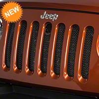 T-REX Sport Series Formed Mesh Grille w/ Hood Lock Access (07-16 Wrangler JK) - T-REX 46482