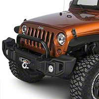 Rugged Ridge Spartacus Overrider Bar - Satin Black (07-16 Wrangler JK) - Rugged Ridge 11544.02