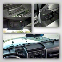 Rugged Ridge 4 Piece Interior Storage Kit (07-10 Wrangler JK) - Rugged Ridge 12496.16