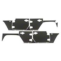 Rugged Ridge Magnetic Protection Panel Kit - Matte Black (07-16 Wrangler JK 4-Door) - Rugged Ridge 12300.53
