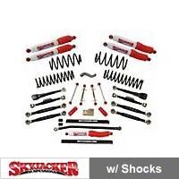 SkyJacker 4 in. Double Flex Series Lift Kit (04-06 Wrangler TJ Unlimited) - SkyJacker TJ403KU-DX-H