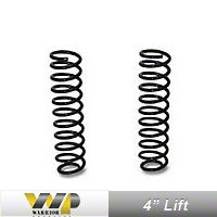 Warrior Products 4 In. Lift Front Coil Springs (97-06 Wrangler TJ) - Warrior Products 800001