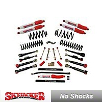 SkyJacker 4 in. Single Flex Series Lift Kit (03-05 Wrangler TJ Rubicon) - SkyJacker TJ403K-SX