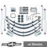 Rubicon Express 4 in. Standard Lift Kit w/ Shocks (87-95 Wrangler YJ) - Rubicon Express 5515