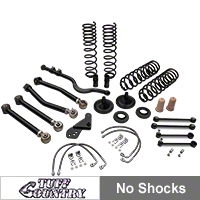 Tuff Country 4 in. EZ-Flex Lift Kit w/o Shocks (07-15 Wrangler JK 4 Door) - Tuff Country 44000