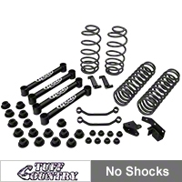 Tuff Country 4 in. EZ-Ride Lift Kit w/o Shocks (97-02 Wrangler TJ) - Tuff Country 44900K