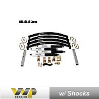 Warrior Products 4 In. Suspension Lift Kit (87-95 Wrangler YJ) - Warrior Products 30641