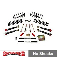SkyJacker 4 in. Value Flex Lift Kit (04-06 Wrangler TJ Unlimited) - SkyJacker TJ403KU-SVX