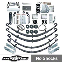 Rubicon Express 4.5 In. Extreme-Duty Suspension System (87-95 Wrangler YJ) - Rubicon Express 5520
