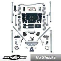 Rubicon Express 4.5 in. Tri-Link Long Arm Lift Kit (97-06 Wrangler TJ) - Rubicon Express 7504