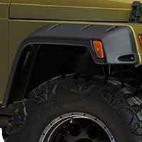 Rugged Ridge 6 In. All Terrain Fender Flare Kit (97-06 Wrangler TJ) - Rugged Ridge 11630.1