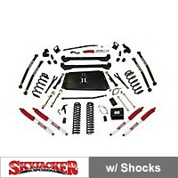 SkyJacker 6 In. Bent Long Arm, Suspension System w/ Nitro Shocks (97-06 Wrangler TJ) - SkyJacker TJ676XPN