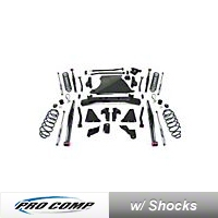 ProComp Suspension 6 In. Dual Sport Long Arm, Suspension System (07-13 Wrangler JK) - Pro Comp Suspension K3098BMX