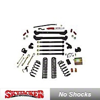 SkyJacker 6 In. Rock Ready Suspension System (03-06 Wrangler TJ) - SkyJacker TJ641K-DX