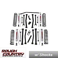 Rough Country 6 In. Suspension Lift Kit (07-13 Wrangler JK 4 Door) - Rough Country 683S