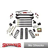 SkyJacker 6 In. Value Flex Suspension System (04-06 Wrangler TJ Unlimited) - SkyJacker TJ60KUSVX