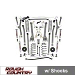 Rough Country 6 in. X-Series Long Arm Suspension Kit (97-06 Wrangler TJ) - Rough Country perf659